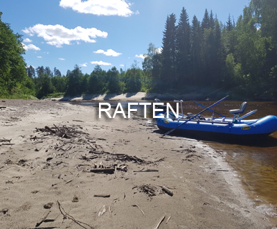 Rafting on the Wild River